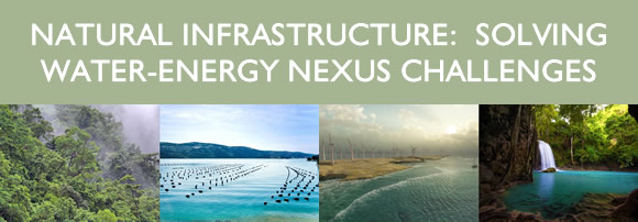 NATURAL INFRASTRUCTURE: SOLVING WATER-ENERGY NEXUS CHALLENGES