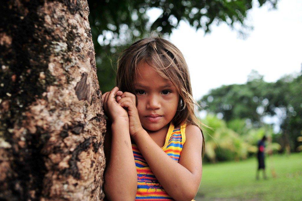 A Child from Sao Felix, in the Brazilian Amazon ©Neil Palmer/CIAT, photograph courtesy of CIFOR