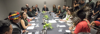 Governors' Forest and Climate Task Force endorses Principles of Collaboration with indigenous peoples
